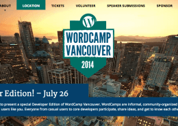 WordPress Camp Vancouver